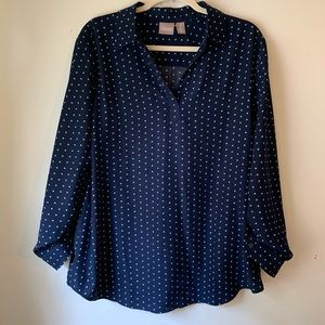 Chico's star blouse size 3